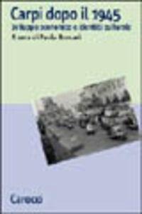 Carpi dopo il 1945