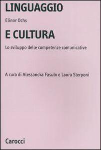 Linguaggio e cultura. Lo sviluppo delle competenze comunicative