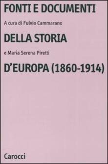Antondemarirreguera.es Fonti e documenti della storia d'Europa (1860-1914) Image