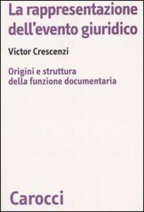 La rappresentazione dell'evento giuridico. Origini e struttura della funzione documentaria