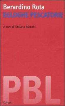 Egloghe pescatorie - Berardino Rota - copertina