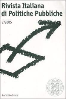 Equilibrifestival.it Rivista italiana di politiche pubbliche (2005). Vol. 2 Image