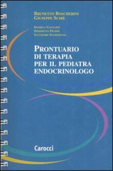 Equilibrifestival.it Prontuario di terapia per il pediatra endocrinologo Image