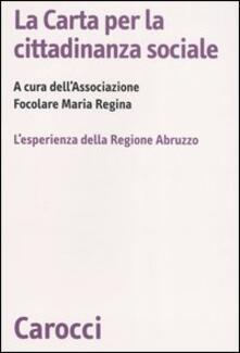 Rallydeicolliscaligeri.it La Carta per la cittadinanza sociale. L'esperienza della Regione Abruzzo Image