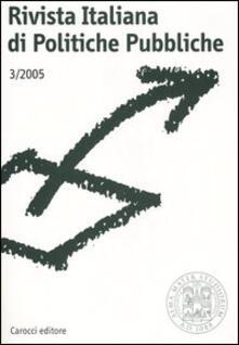 Equilibrifestival.it Rivista italiana di politiche pubbliche (2005). Vol. 3 Image