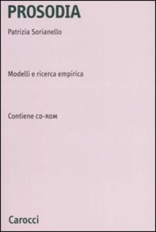 Antondemarirreguera.es Prosodia. Modelli e ricerca empirica. Con CD-ROM Image