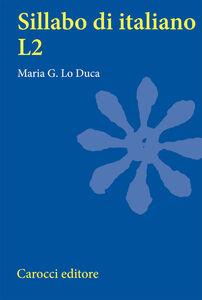Sillabo d'italiano L2. Per studenti universitari in scambio