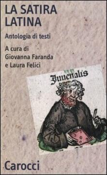 La satira latina. Antologia di testi. Ediz. latina e italiana.pdf
