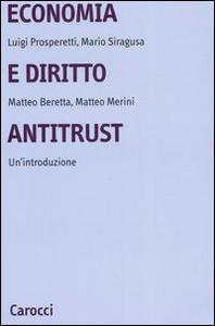 Libro Economia e diritto antitrust. Un'introduzione