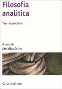 Filosofia analitica. Temi e problemi