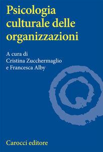 Libro Psicologia culturale delle organizzazioni