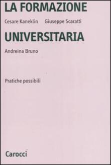 Listadelpopolo.it La formazione universitaria. Pratiche possibili Image