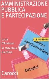 Amministrazione pubblica e partecipazione