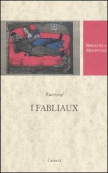 Rallydeicolliscaligeri.it I fabliaux. Testo francese a fronte Image