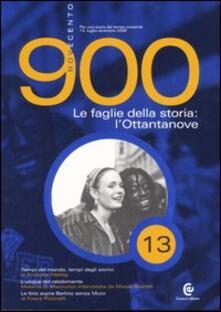 Osteriacasadimare.it Novecento (2005). Vol. 13: Le faglie della storia: l'Ottantanove. Image