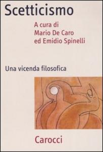 Libro Scetticismo. Una vicenda filosofica