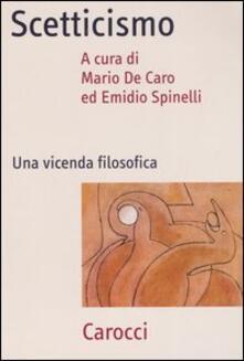 Amatigota.it Scetticismo. Una vicenda filosofica Image
