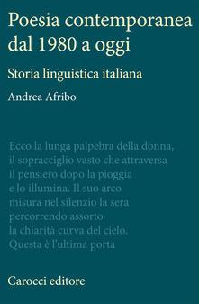 Poesia contemporanea dal 1980 a oggi. Storia linguistica italiana.pdf