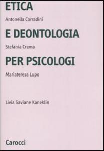 Libro Etica e deontologia per psicologi