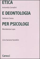 Etica e deontologia per psicologi