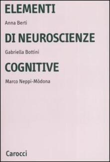 Filippodegasperi.it Elementi di neuroscienze cognitive Image