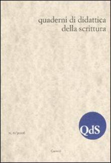 Equilibrifestival.it QdS. Quaderni di didattica della scrittura (2006). Vol. 6 Image