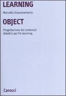 Fondazionesergioperlamusica.it Learning object. Progettazione dei contenuti didattici per l'e-learning Image