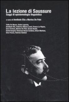 Nicocaradonna.it La lezione di Saussure. Saggi di epistemologia linguistica Image