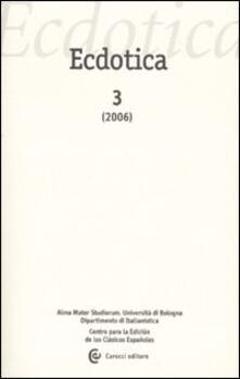 Ristorantezintonio.it Ecdotica (2006). Vol. 3 Image