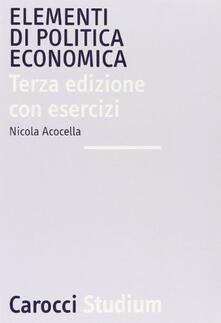 Recuperandoiltempo.it Elementi di politica economica con esercizi Image