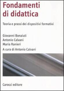 Fondamenti di didattica. Teoria e prassi dei dispositivi formativi.pdf