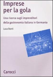 Promoartpalermo.it Imprese per la gola. Una ricerca sugli imprenditori della gastronomia italiana in Germania Image