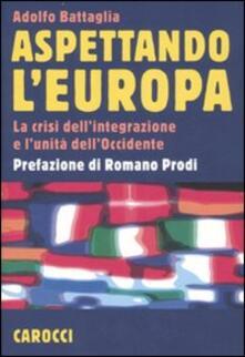 Amatigota.it Aspettando l'Europa. La crisi dell'integrazione e l'unità dell'Occidente Image