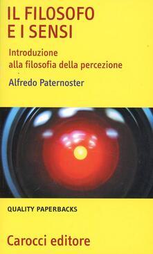 Aboutschuster.de Il filosofo e i sensi. Introduzione alla filosofia della percezione Image