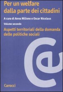 Daddyswing.es Per un welfare dala parte dei cittadini. Aspetti territoriali della domanda dele politiche sociali. Vol. 2 Image