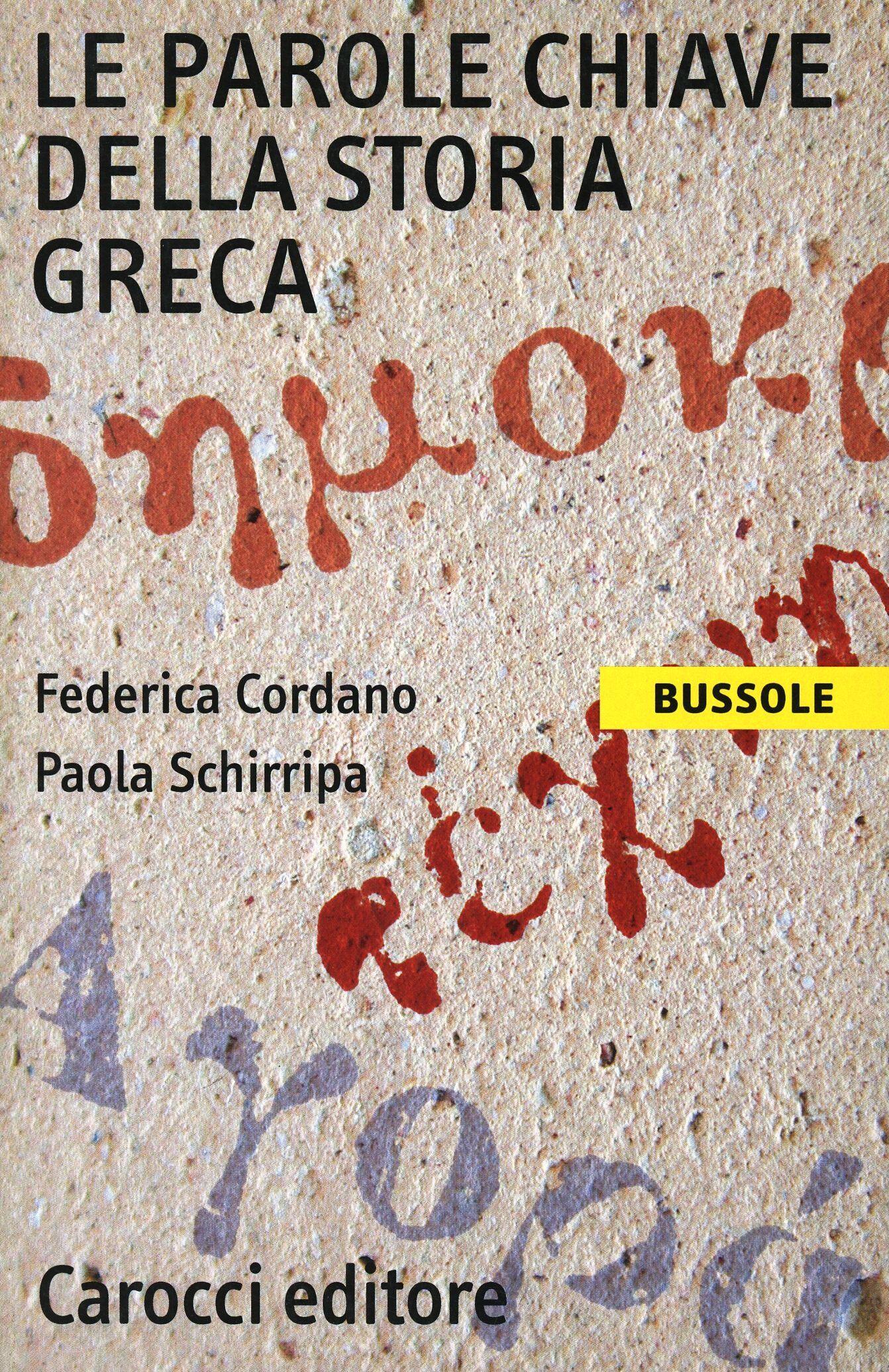 Le parole chiave della storia greca