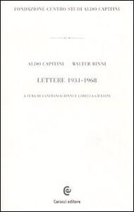 Lettere 1931-1968