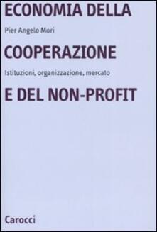 3tsportingclub.it Economia della cooperazione e del non-profit. Istituzioni, organizzazione, mercato Image