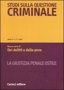 Voluntariadobaleares2014.es Studi sulla questione criminale (2007). Vol. 2 Image