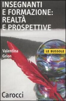 Secchiarapita.it Insegnanti e formazione: realtà e prospettive Image