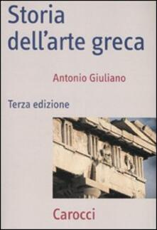 Equilibrifestival.it Storia dell'arte greca. Ediz. illustrata Image