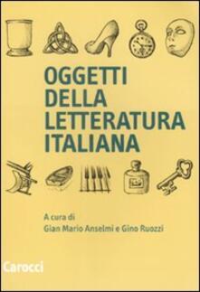 Associazionelabirinto.it Oggetti della letteratura italiana Image
