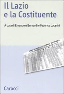 Radiospeed.it Il Lazio e la Costituente Image