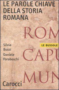 Le parole chiave della storia romana
