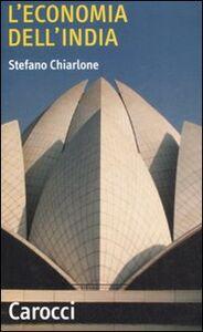 Libro L' economia dell'India Stefano Chiarlone