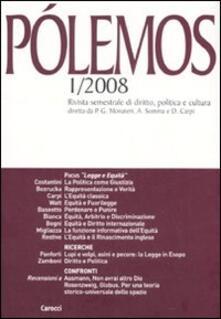 Voluntariadobaleares2014.es Pólemos. Rivista semestrale di diritto, politica e cultura (2008). Vol. 1 Image
