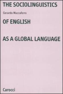 Voluntariadobaleares2014.es The sociolinguistics of english as a global language Image