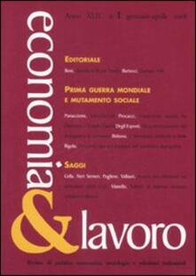 Milanospringparade.it Economia & lavoro (2008). Vol. 1 Image