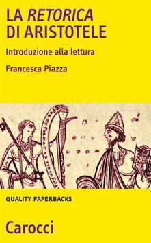 Listadelpopolo.it La Retorica di Aristotele. Introduzione alla lettura Image