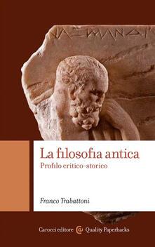 Librisulladiversita.it La filosofia antica. Profilo critico-storico Image